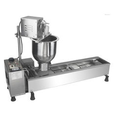 China Electric Donut Maker Machine , Commercial Donut Equipment For Pastry Shop supplier