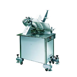 China Vertical Commercial Automatic Meat Slicer Machine 14 Inch For Frozen Meat Mutton distributor