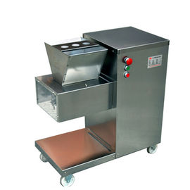 QW Fresh Pig Cow Beef Meat Cutting Machine Heavy Duty 800kg/h With One Set Blade
