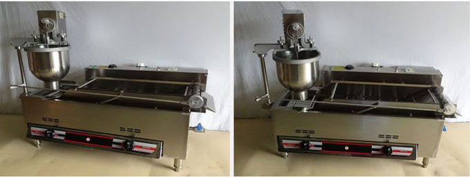 Industrial Automatic Cake Donut Machine Operate In Electric And Gas